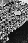 Flower Wheel Tablecloth pattern