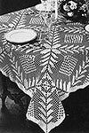 Square a Day Tablecloth pattern