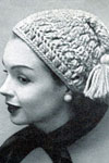 hairpin lace pirate hat pattern
