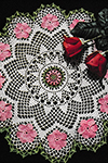 Wild Rose Doily Pattern