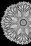fern leaf doily pattern