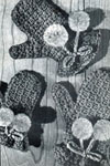 ladies crocheted mittens