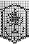 filet crochet edging patterns for altar cloths and robes