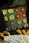 flower garden pillow pattern