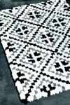 diamond tile rug pattern